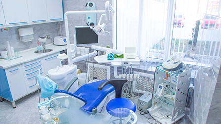 оборудование в современной стоматологической клинике