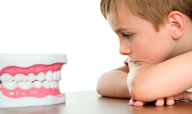 рост зубов у детей