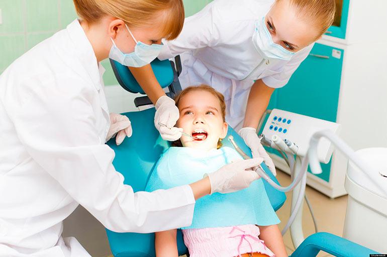 детский стоматологог